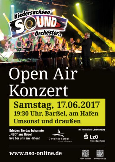 Open Air Konzert in Barßel
